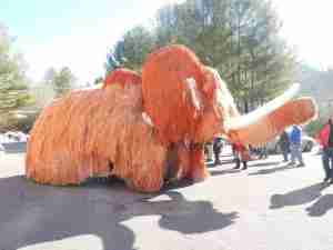 Woolly Mammoth Day Breakfast @ Northwood High School Cafeteria | Saltville | Virginia | United States